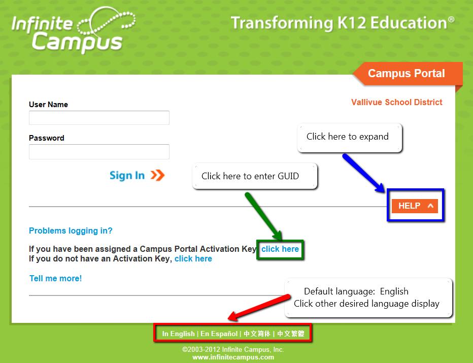 Infinite Campus Student Portal Wwwpicsbudcom